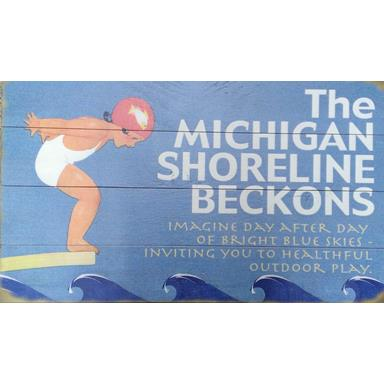 products the michigan shoreline beckons sign 150×150