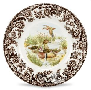 products wood duck dinner plate 150×150