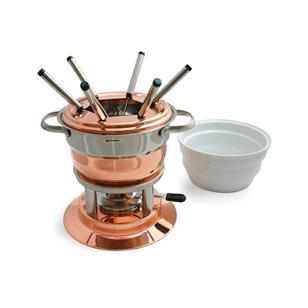 products lausanne 11 piece copper fondue set 150×150