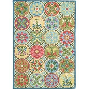 products stepping stones blue rug 150×150