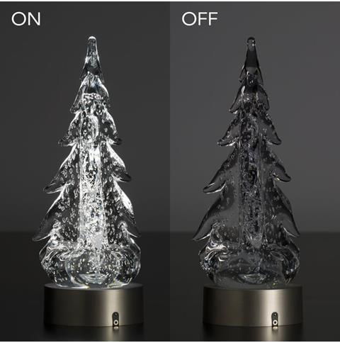products led light with tree