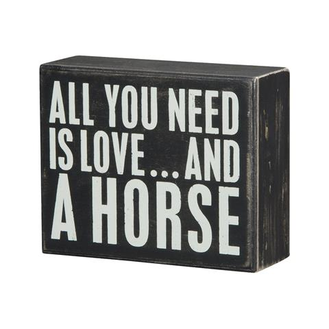 products all you need is love and a horse 150×150