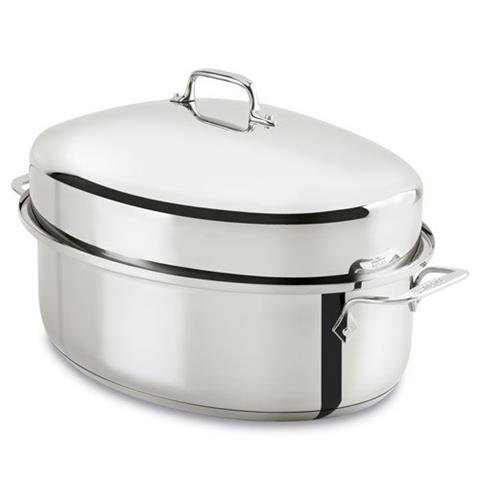 All Clad 10 Quart Covered Oval Roaster Cutler S