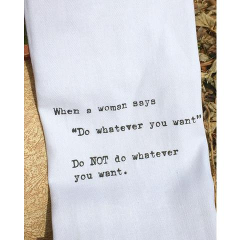 products do whatever you want towel
