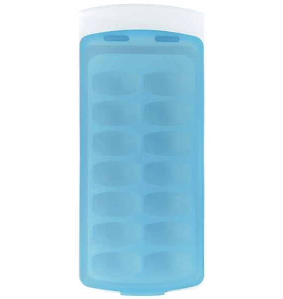 products no spill ice cube tray