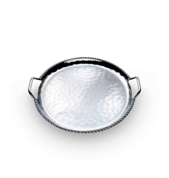 products paloma round tray with braids