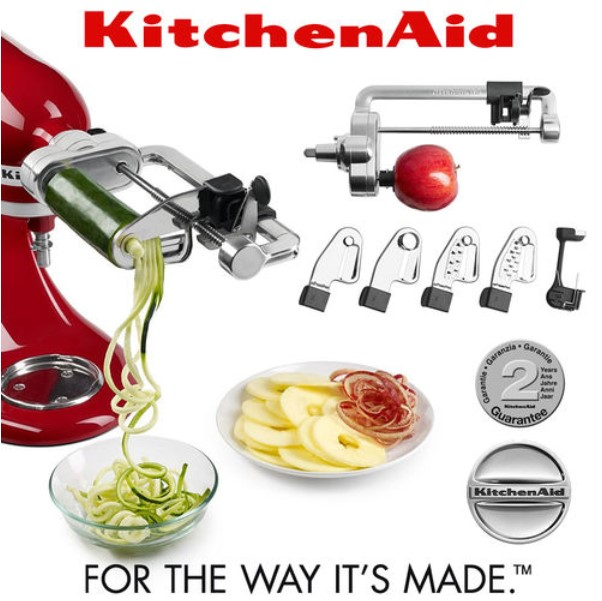 Kitchenaid Spiralizer Attachment Reg Sale 99 99 Cutler S
