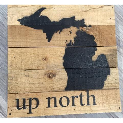 products up north sign