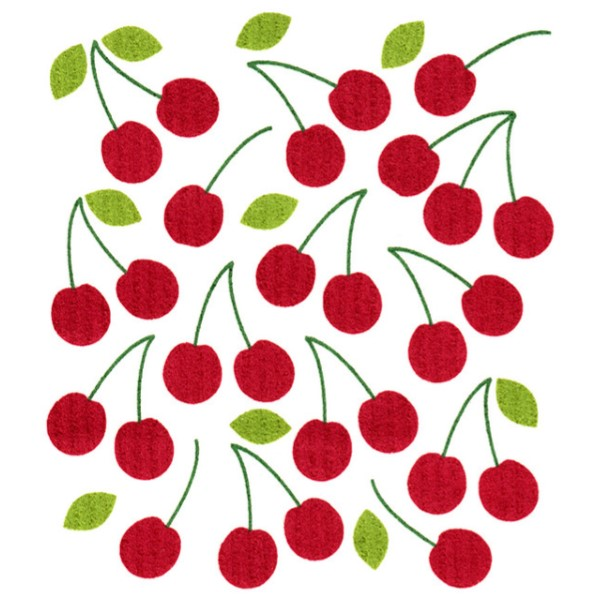 products cherries cloth