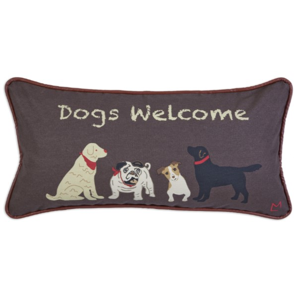 products dogs welcome canvas pillow 150×150