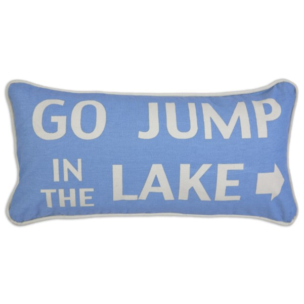 Products Go Jump In The Lake Pillow 150x150