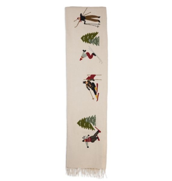 products skier throw blanket