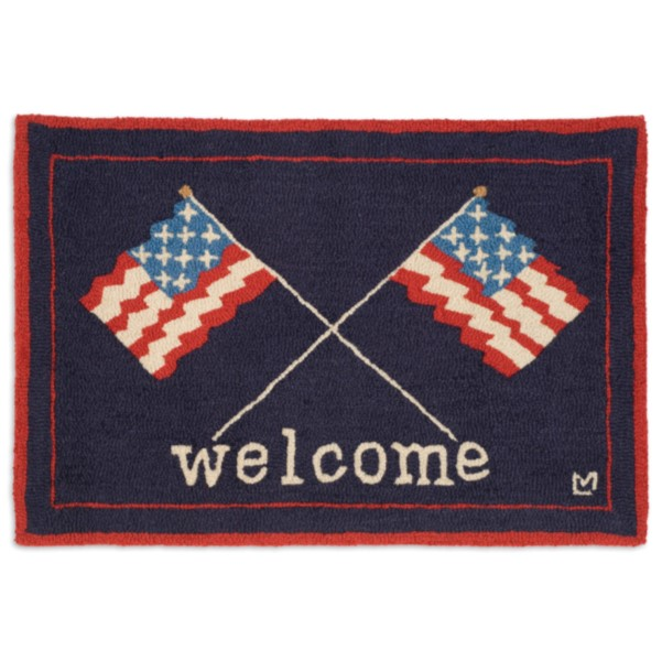products welcome flags rug 150×150