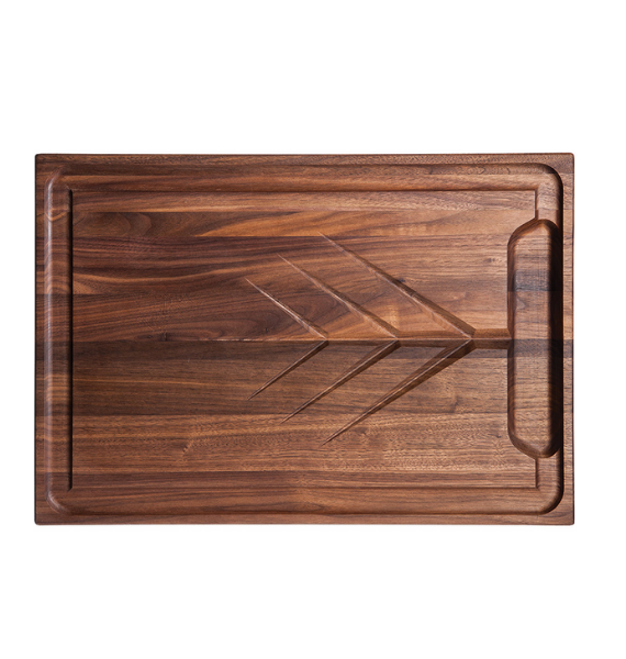 CRV walnut carving board