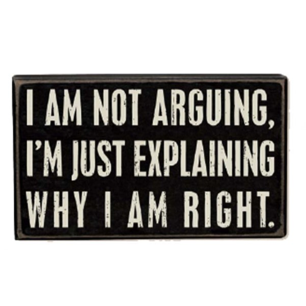 products not arguing sign 150×150