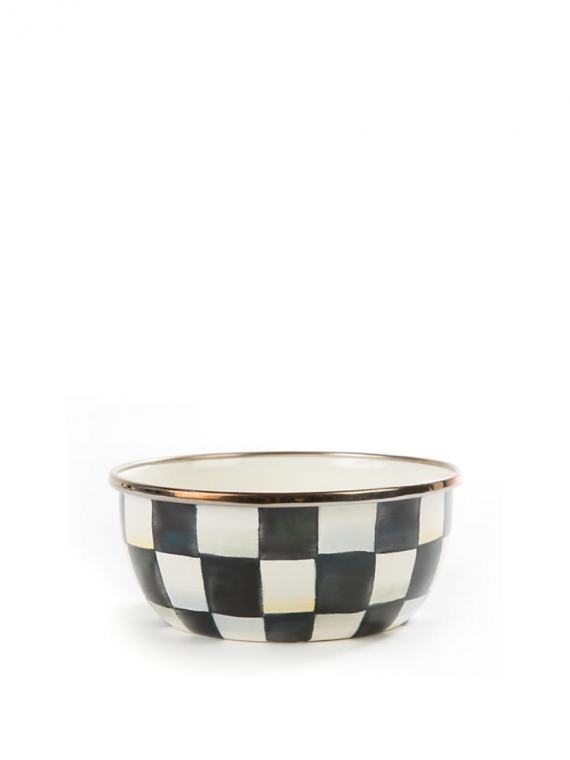 courtly check pinch bowl