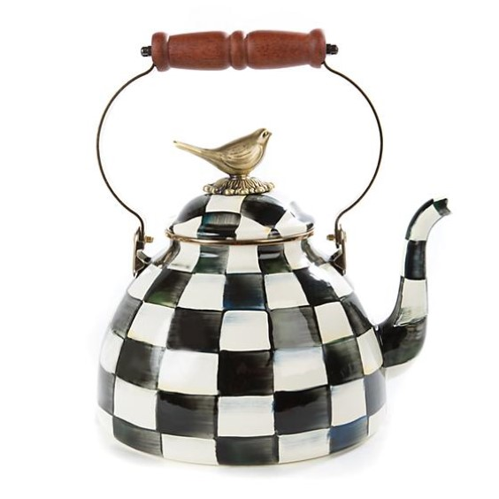 products courtly check 3qt tea kettle with bird 150x150