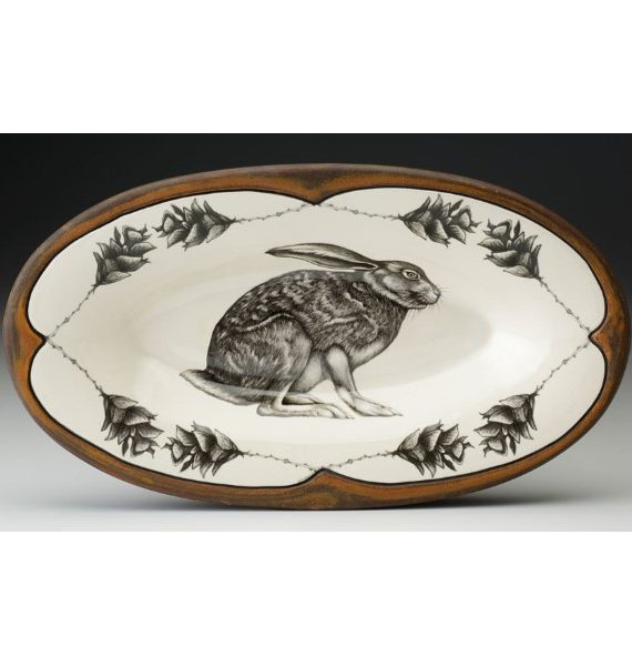 products crouching hare oblong tray 150×150