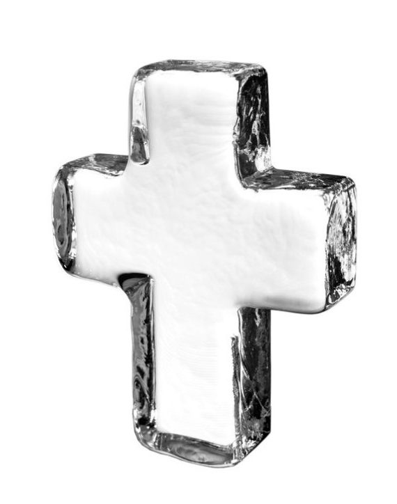 products small glass cross 150×150