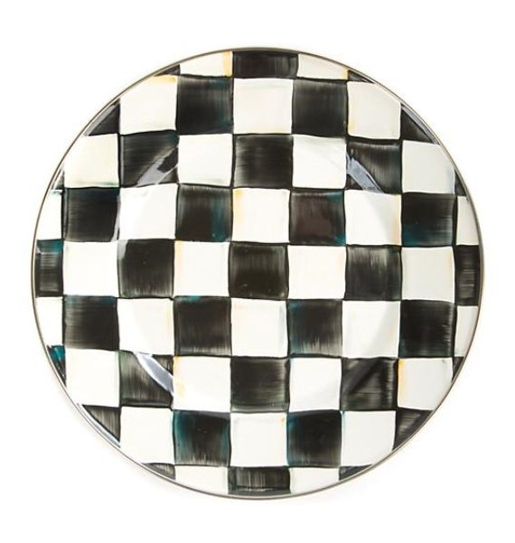 products courtly check enamel dinner plate 150×150