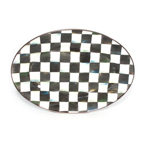products courtly check small oval tray 150×150