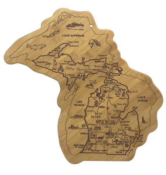 products destination michigan cutting board 150×150