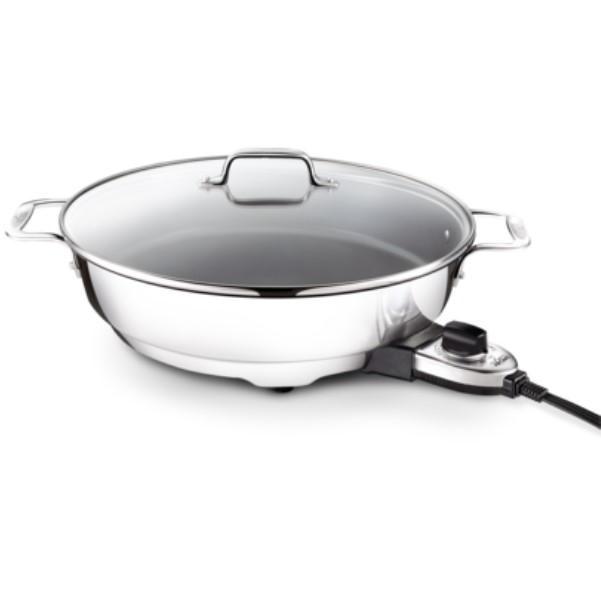 Quart electric skillet