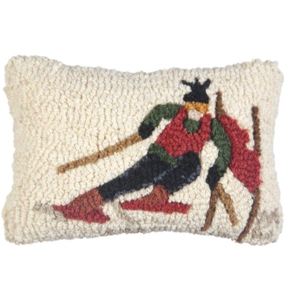 Ski Racer Pillow Small
