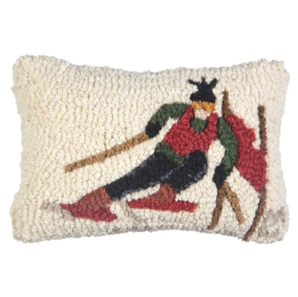 Ski Racer Pillow Small