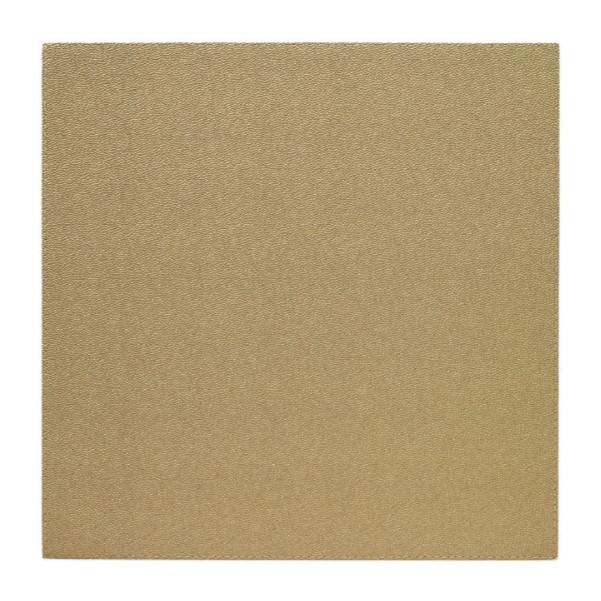Square Gold Placemat