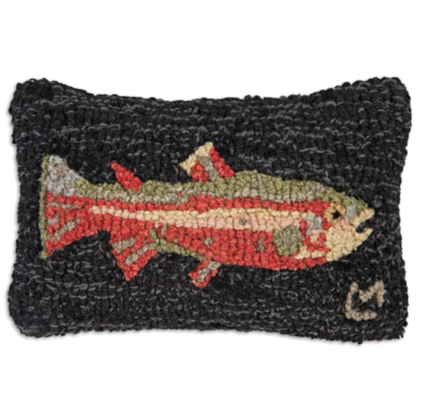 Trout Pillow Small