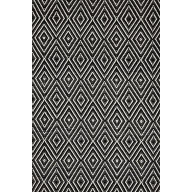 Diamond Black Ivory Rug