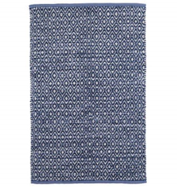 Diamond Chenille Blue