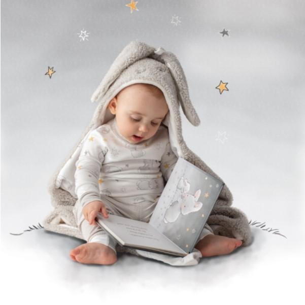 Grey Hooded Blanket
