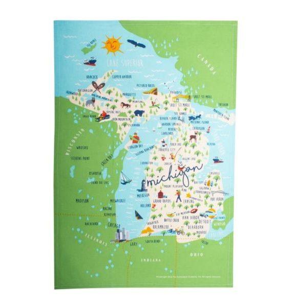 Michigan Towel