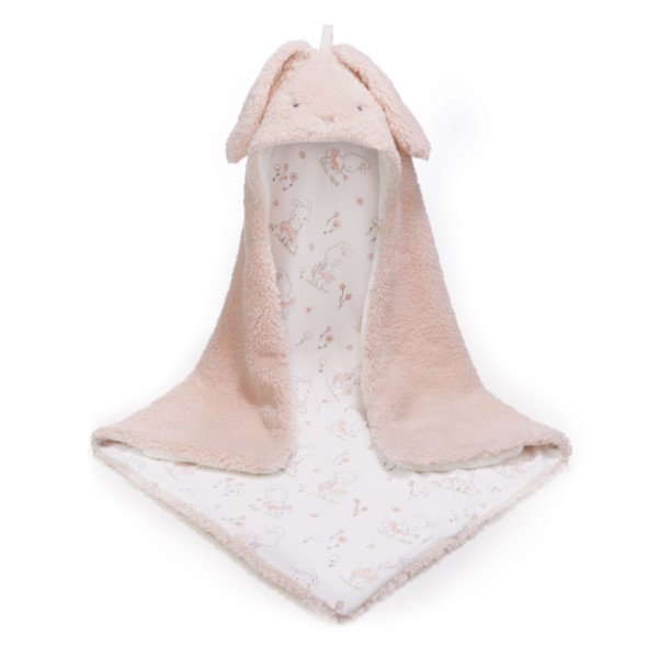 Pink Hodded Blanket