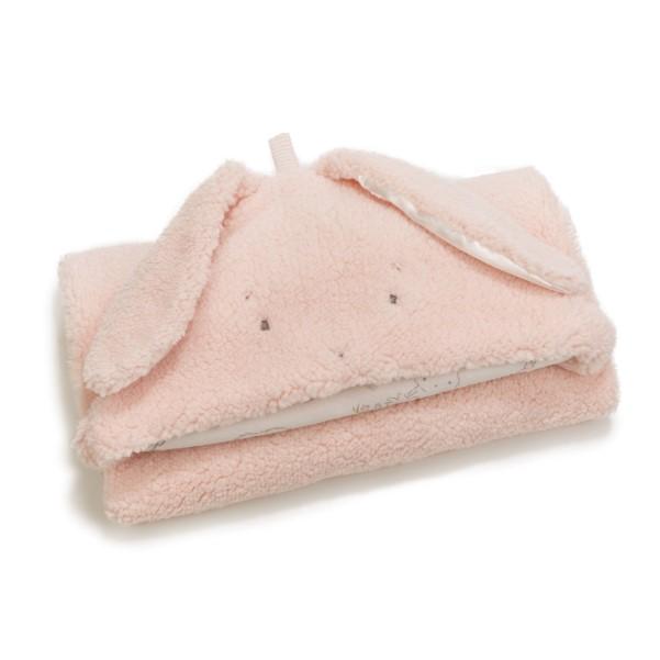 Pink Hooded Blanket