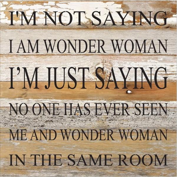 Wonder Woman Sign