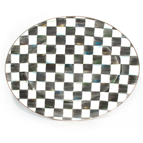 Courtly Check Oval Large