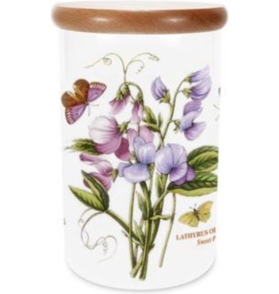 Sweet Pea Canister