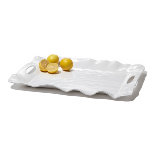 Melamine Tray With Handles