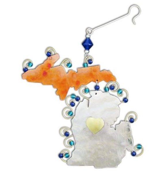Michigan Ornament