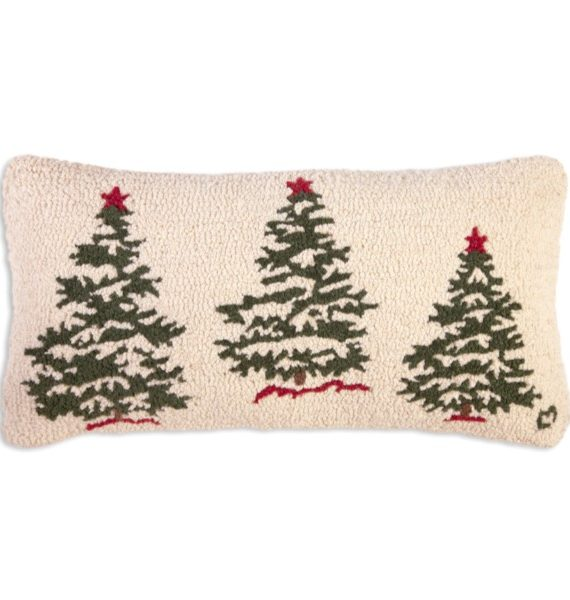 treesonwhite pillow