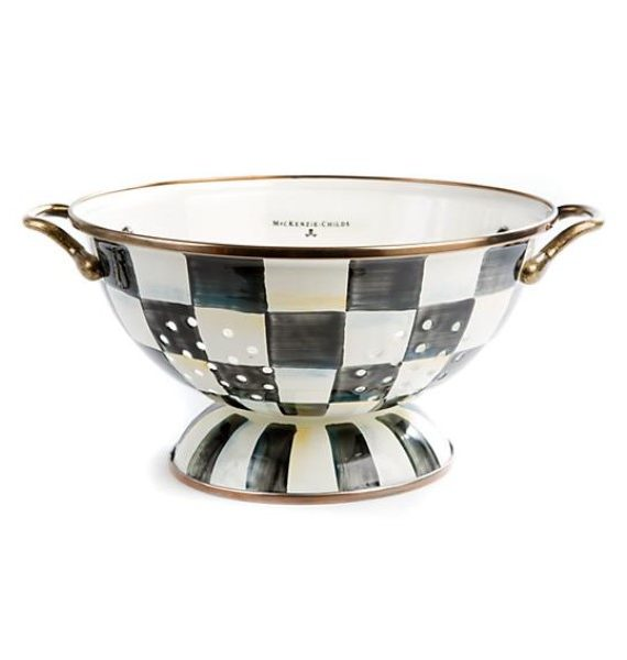 courtly check colander lg