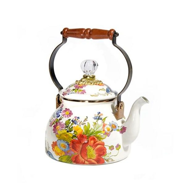 flower market qt tea kettle
