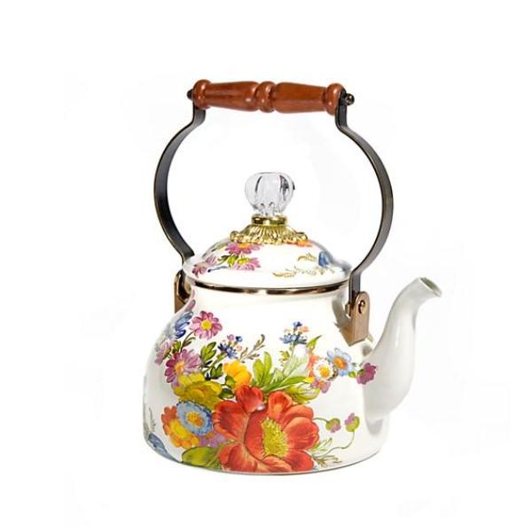 flower market qt tea kettle