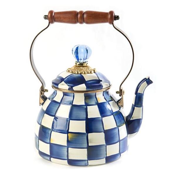 royal check qt tea kettle