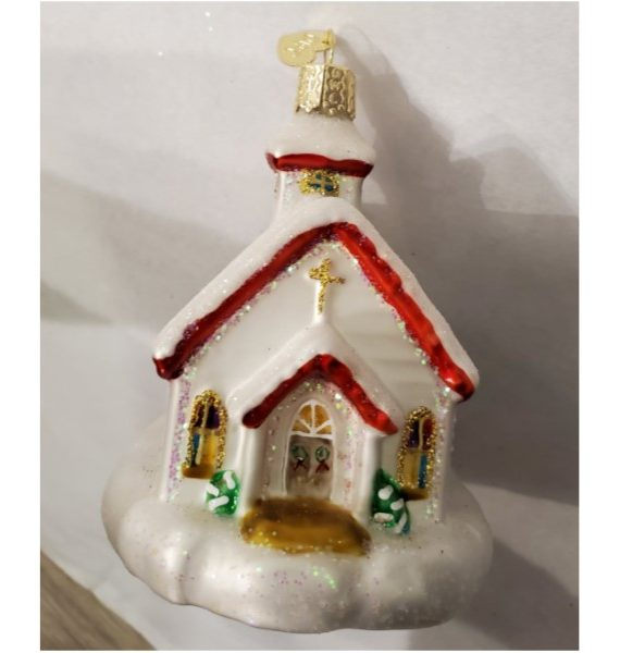 Country Church Ornament
