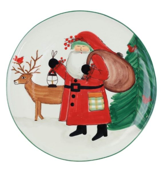 Old St Nick Limited Edition Round Platter