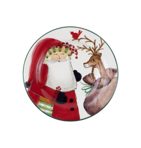 Old St Nick Limited Edition Salad Plate